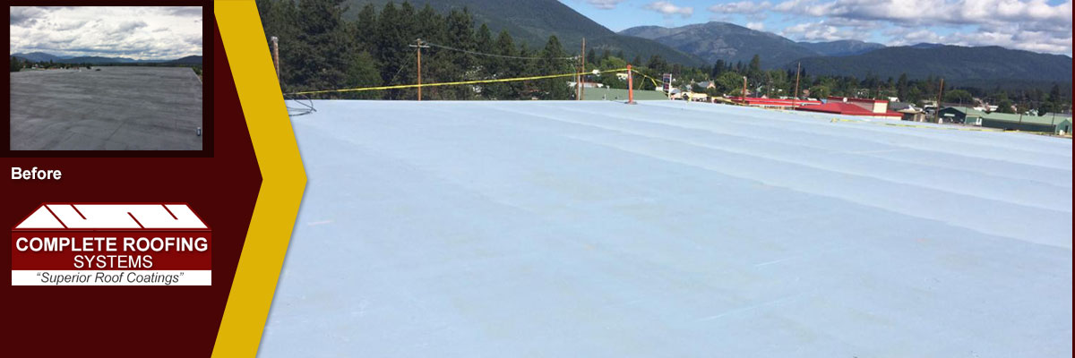 Single Ply Roof Restoration and Coatings by Complete Roofing Systems