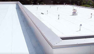 Single-ply Membrane Roof Restoration