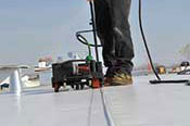 Seams Heat Welded - Complete Roofing Systems