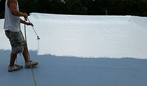 Spray Polyurethane Foam Roof Coatings